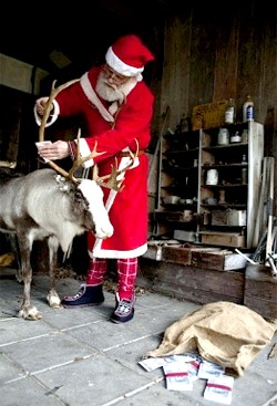 будинок Санта Клауса в Гренландії