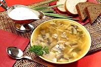 Як зварити грибний суп в мультиварці