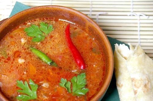 Рецепти супу харчо, як готувати харчо правильно