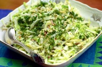 Салат з кольрабі