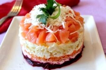Прикраса салатів