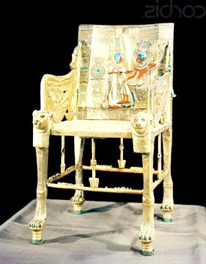 золотий трон Тутанхамона