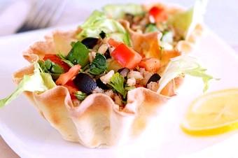 Рецепти холодних закусок в тарталетках