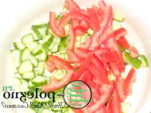 салат зі свіжих овочів