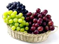 Скільки калорій у винограді