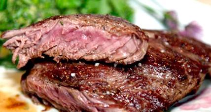 Стейк зі свинини - найкращі рецепти свинячого стейка