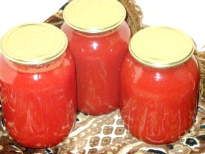томатний сік на зиму